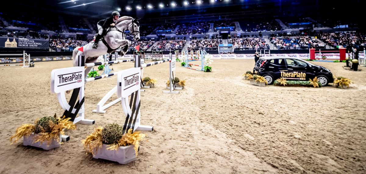 World Class Showjumping At Liverpool