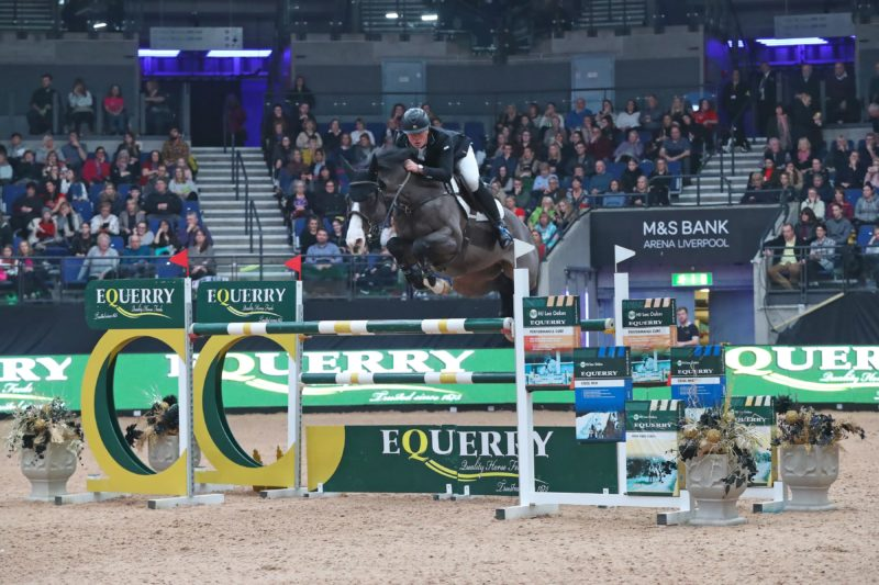 James Whitaker Heads Equerry Horse Feeds Under-25s Grand Prix