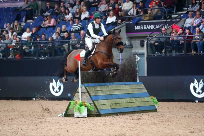 Star Shines on Padraig in Eventing Grand Prix