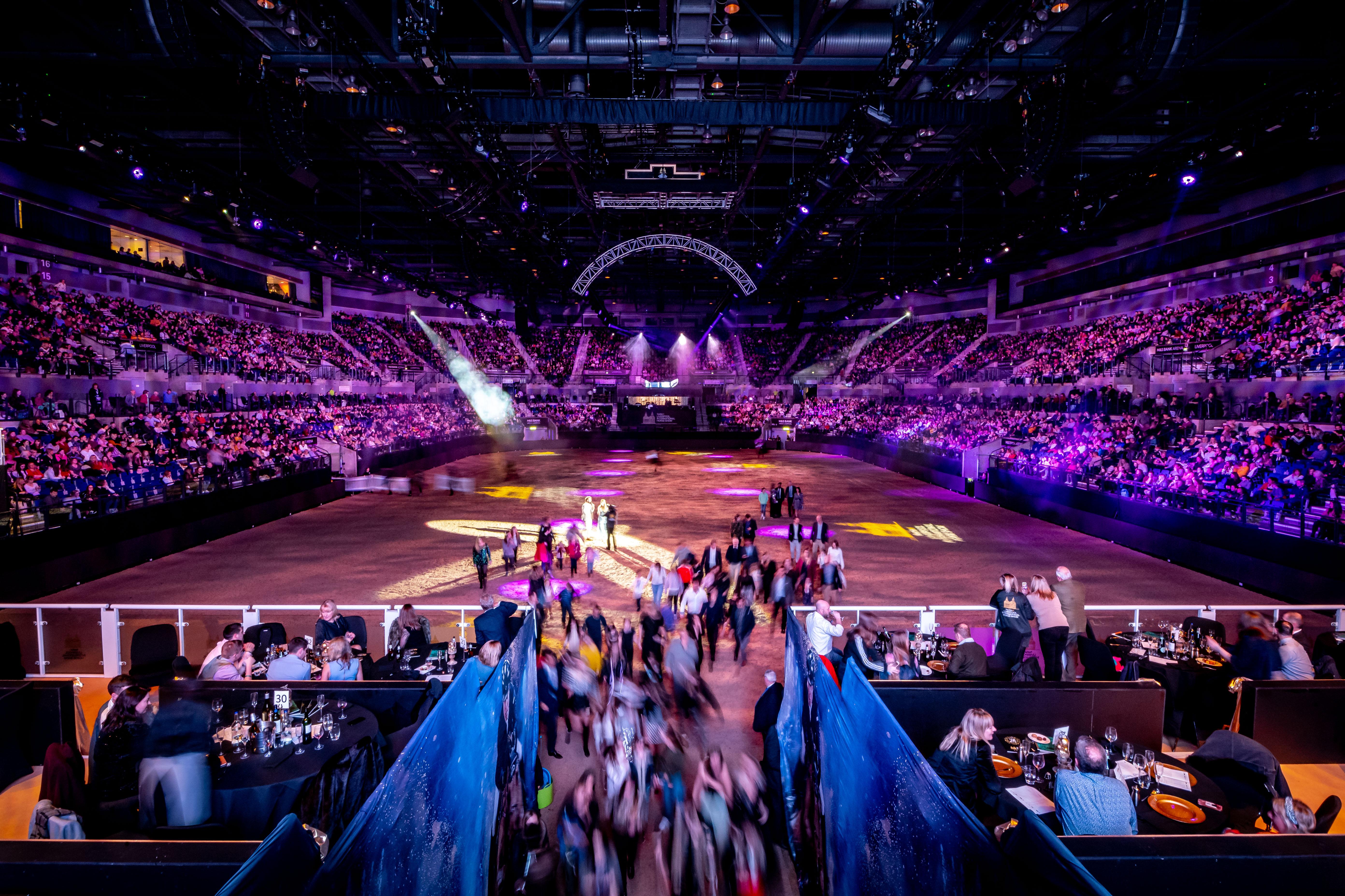 Arena shot