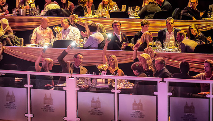 The Paddock Club VIP Experience at the Voltaire Design Liverpool International Horse Show