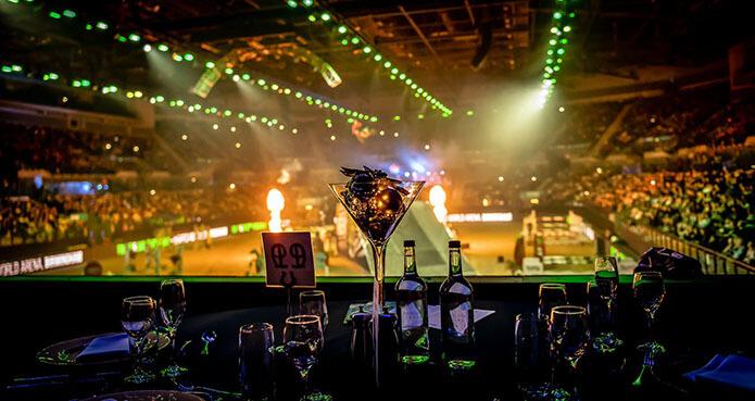 liverpool international horse show paddock club vip hospitality view